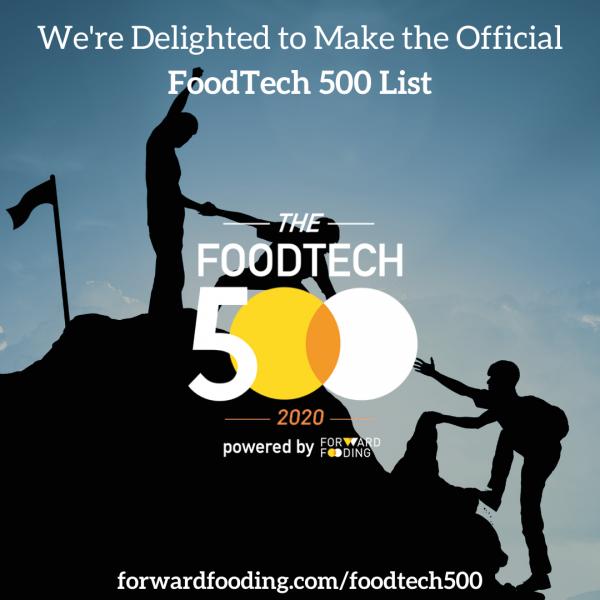 Foodtech 500 ProAgni ranked 158th